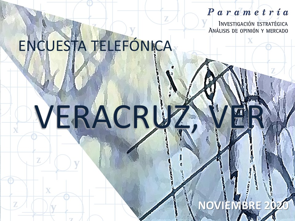 ENCUESTA TELEF�NICA VERACRUZ, VER